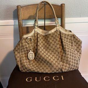 Large Gucci sukey tote